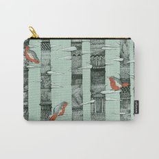 January Birds Carry-All Pouch