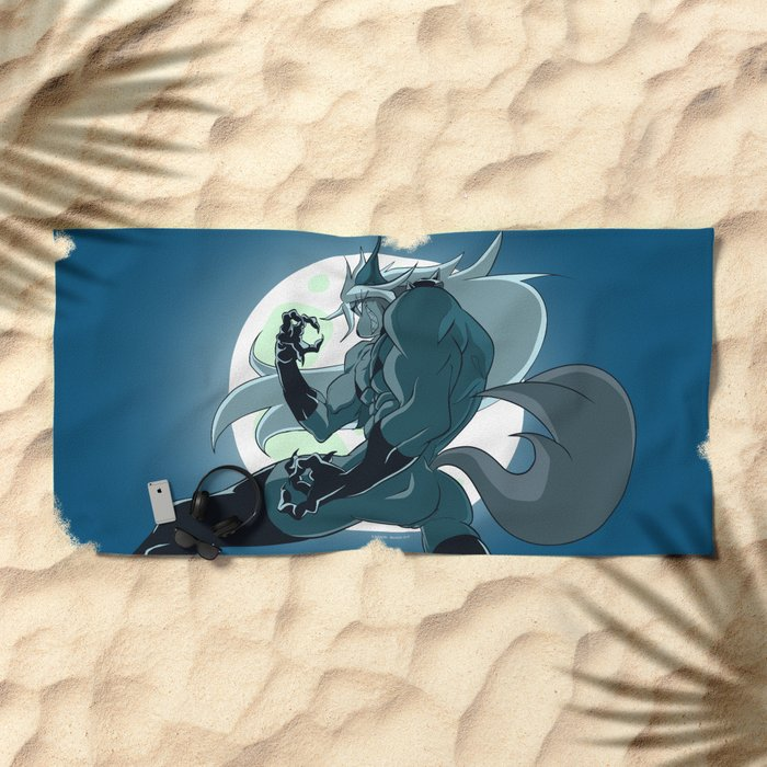 Beatrix Dominatrix (Peepoodo) Beach Towel