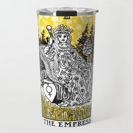 A Floral Tarot Print - The Empress Travel Mug