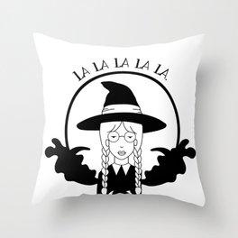 La la la la la. Throw Pillow