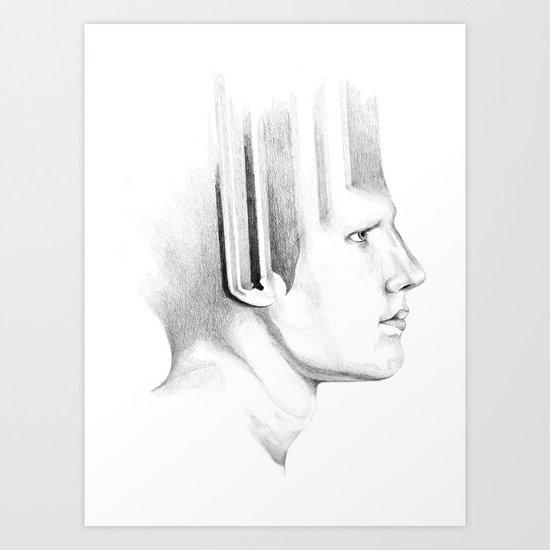 cut+copy Art Print
