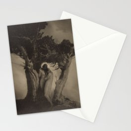 The Heart of the Storm by Anne Brigman,1902 Stationery Cards