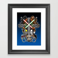 I know..... Framed Art Print