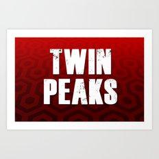 Twin Peaks Art Print
