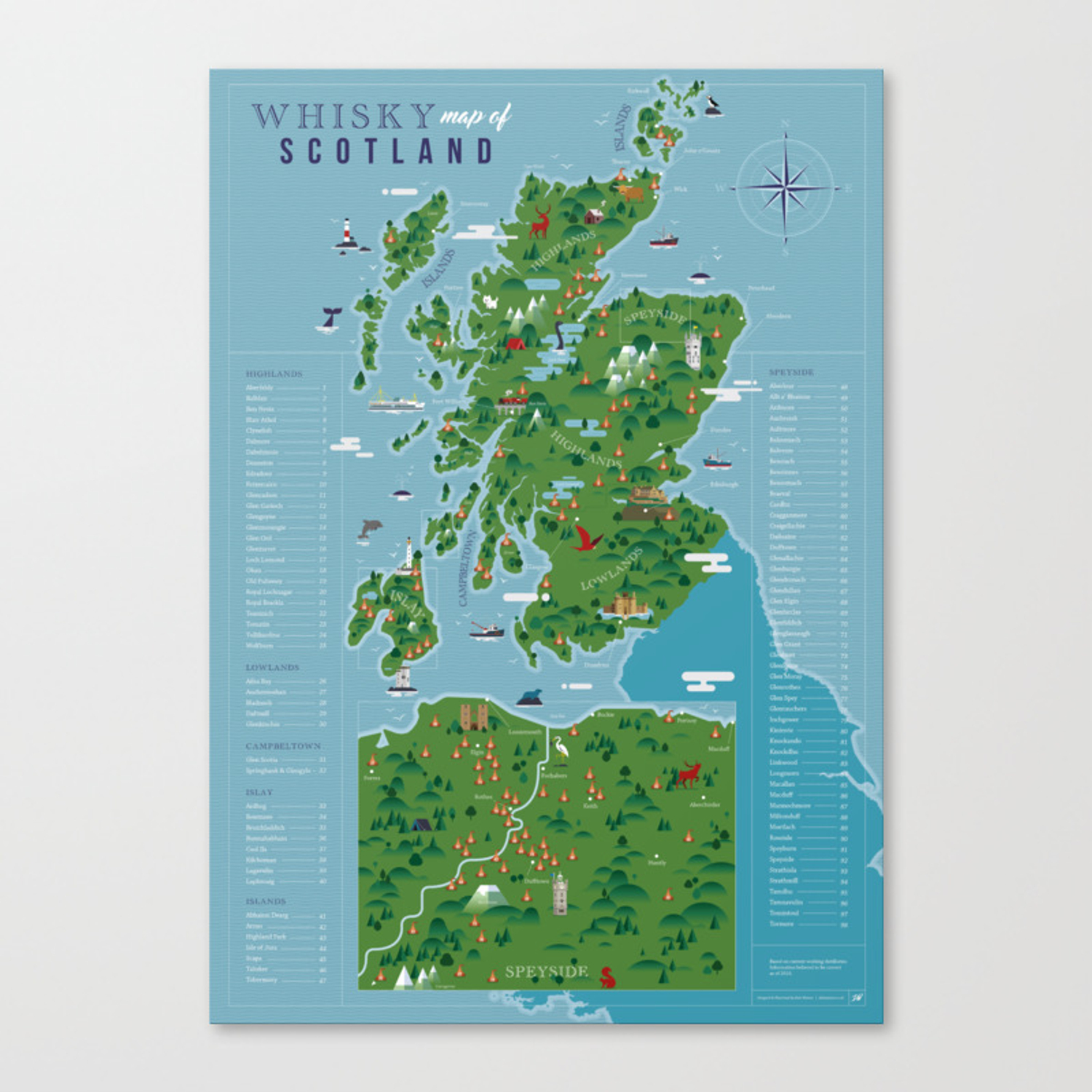It's just a picture of Printable Map of Scotland pertaining to white