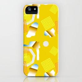 Lemon Vibes iPhone Case
