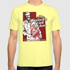 KFC (Utah) Lemon Mens Fitted Tee LARGE