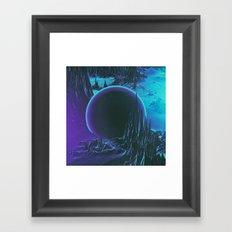 PURPLE MOUNTAINS MAJESTY (everyday 12.30.15) Framed Art Print