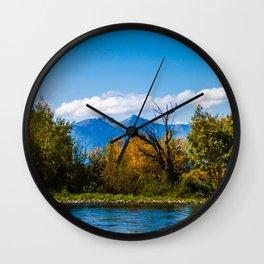Autumn in Kamchatka Wall Clock