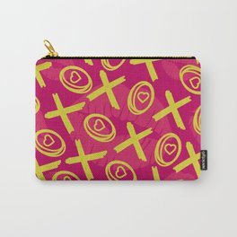 Hugs and Kisses Pattern Carry-All Pouch