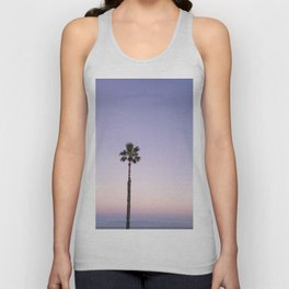 Stand out - ombré violet Unisex Tank Top