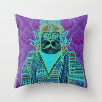 persian Throw Pillows featuring Persian by MR VELA