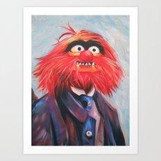 Portrait Of An Animal Art Print