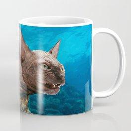 Moray Eel Cat Coffee Mug
