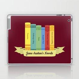 The Jane Austen's Novels III Laptop & iPad Skin