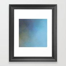 Azure Light Framed Art Print