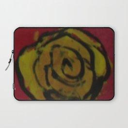 Yellow Rose Red Kids Art Painting  Laptop Sleeve