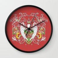 gemma Wall Clocks featuring GEMMA by Keitopolis