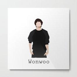 Seventeen - Wonwoo Metal Print