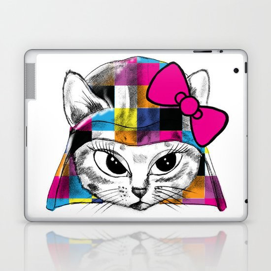 Darth Kitty Laptop & iPad Skin
