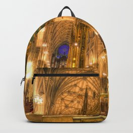 St Patrick's Cathedral New York Backpack