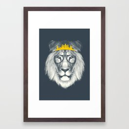 Kingdom Of The Lion Framed Art Print