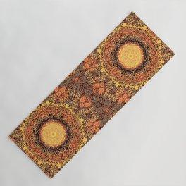 Marigold Mandala Yoga Mat