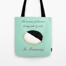 Look to the cookie, Elaine. Tote Bag