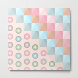Perfectly Pastel Metal Print
