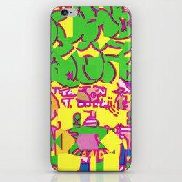 Super Sour iPhone Skin