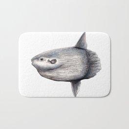 Ocean Sunfish (Mola mola) Bath Mat