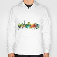 washington dc Hoodies featuring Washington, DC Skyline SP by Marlene Watson