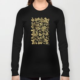 Cherry Blossoms – Gold Palette Long Sleeve T-shirt