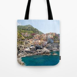 Manarola is one of the most beautiful islands of Cinque Terre Tote Bag