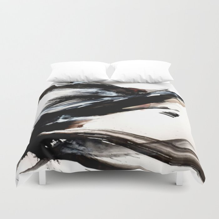 Day 9: A hurried life is an unexamined life. An unexamined life is a reckless life... Duvet Cover