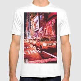 Glittering Light of New York City T-shirt