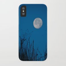 Faded Moon Slim Case iPhone X