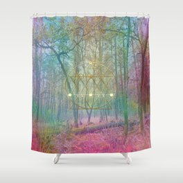 Magic of the Woods Shower Curtain
