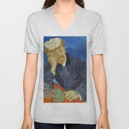 Vincent van Gogh - Dr Paul Gachet Unisex V-Neck