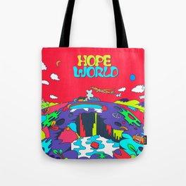 JHope Hope World Album Art Tote Bag