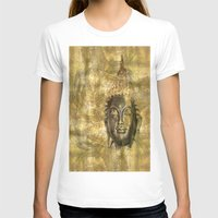 antique T-shirts featuring Buddha antique by Digital-Art