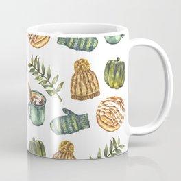 Watercolor Winter Objects Coffee Mug
