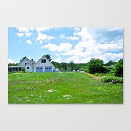 Hebron pastures  Canvas Print