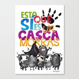 Cascamorras Canvas Print
