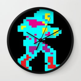 Colorful Belmont Wall Clock
