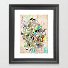 spaghetiii Framed Art Print