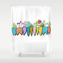 Succumolars Shower Curtain