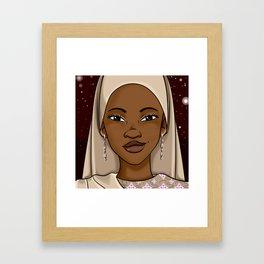 MGT Headshot Framed Art Print