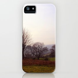 Dusk On The Hills iPhone Case