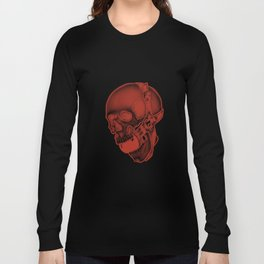 Shhhh skull Long Sleeve T-shirt